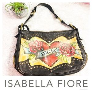 Isabella Fiore RARE Leather Wicked Purse! 🌸